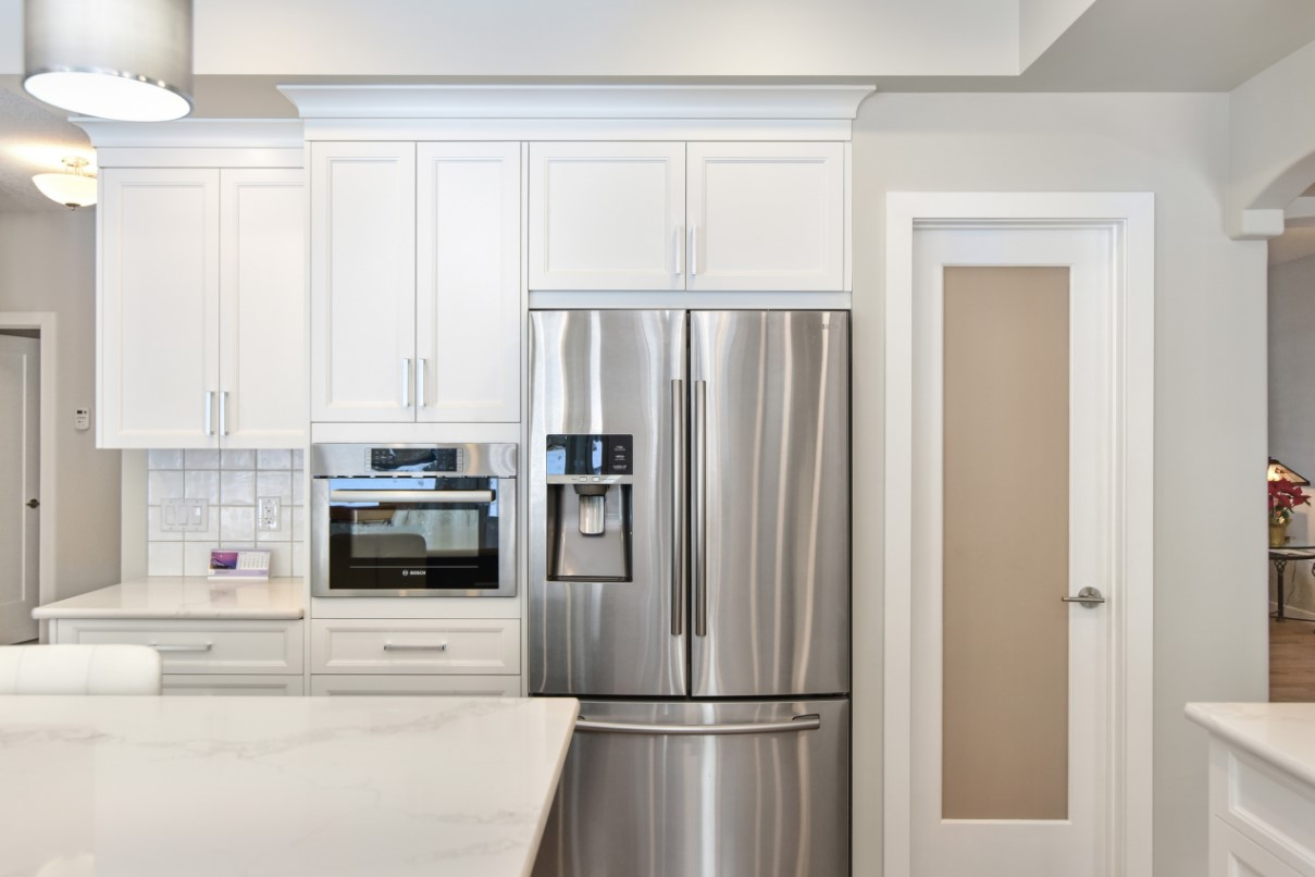 Microwave idea for a new kitchen