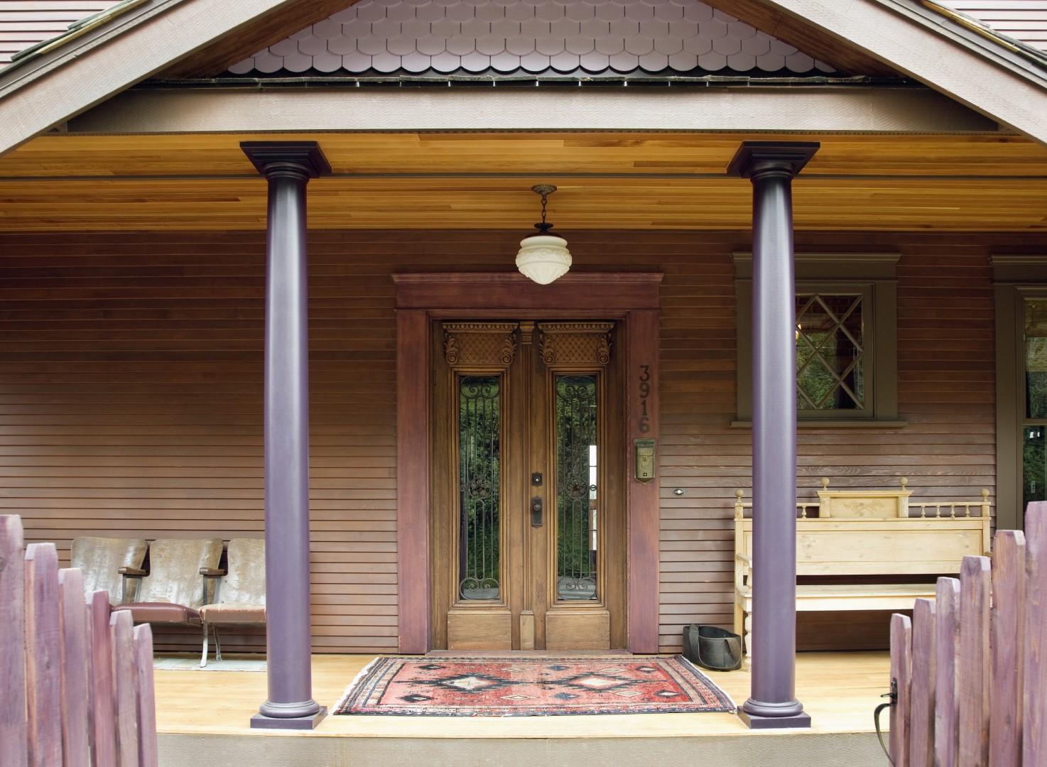 Wood Siding on a house