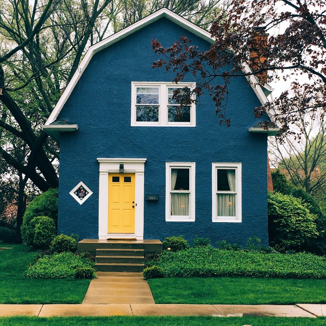 Stucco Siding on a house